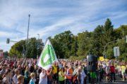 Radentscheid Bielefeld – Demo 22.9.2019 für Radschnellweg, gegen Ausbau der B61 – Foto: Andreas Finke
