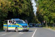 Radentscheid Bielefeld – Demo 22.9.2019 für Radschnellweg, gegen Ausbau der B61 – Polizeibegleitung – Foto: Andreas Finke