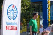 Radentscheid Bielefeld – Demo 22.9.2019 für Radschnellweg, gegen Ausbau der B61 – Jens Korff – Foto: Andreas Finke