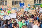 Klimastreik Bielefeld 20.9.2019 – Foto: Klaus Feurich